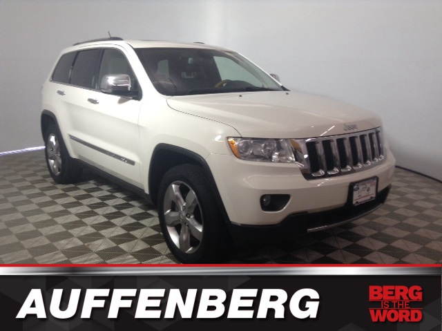Pre-Owned 2012 Jeep Grand Cherokee Overland