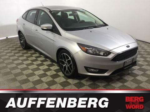 Certified Pre-Owned 2017 Ford Focus SEL