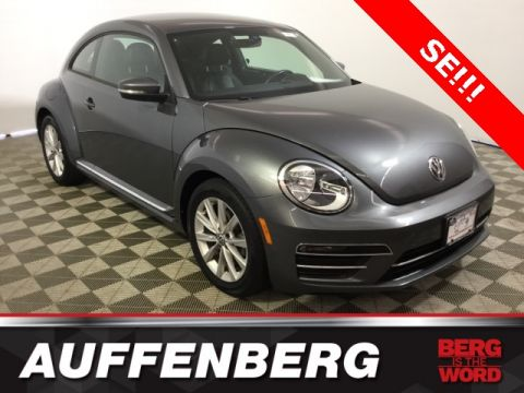 Certified Pre-Owned 2017 Volkswagen Beetle 1.8T SE